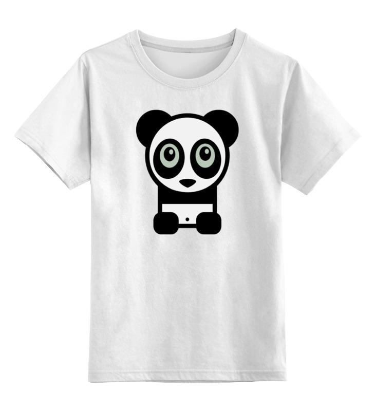 Детская футболка классическая унисекс Printio Панда (panda) детская футболка классическая унисекс printio панда боксер