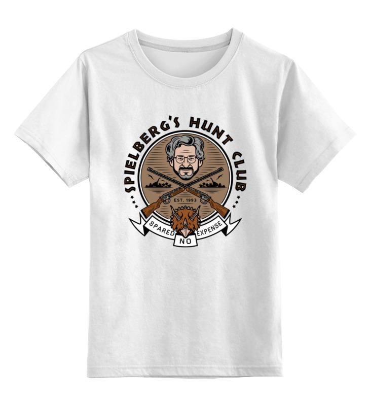 Детская футболка классическая унисекс Printio Спилберг ( клуб)