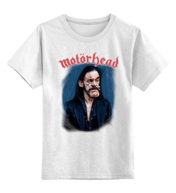 Детская футболка классическая унисекс Printio Motorhead band сумка printio motorhead band