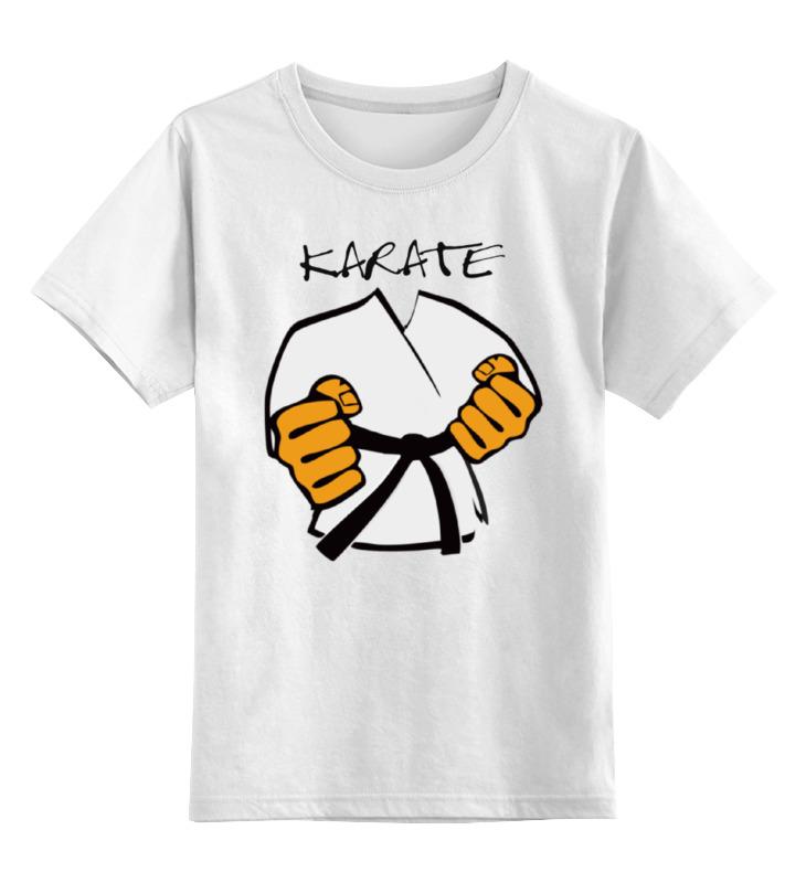 Детская футболка классическая унисекс Printio Карате кимоно ги karate платье в стиле кимоно 44