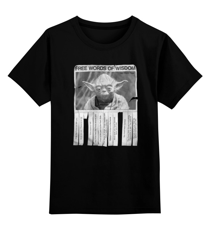 Детская футболка классическая унисекс Printio Мастер йода футболка классическая printio мастер йода