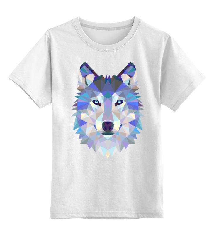 Детская футболка классическая унисекс Printio Wolf (волк) детская футболка классическая унисекс printio lone wolf