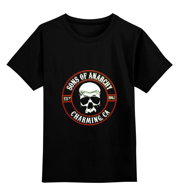 Детская футболка классическая унисекс Printio Сыны анархии плакат a3 29 7x42 printio сыны анархии