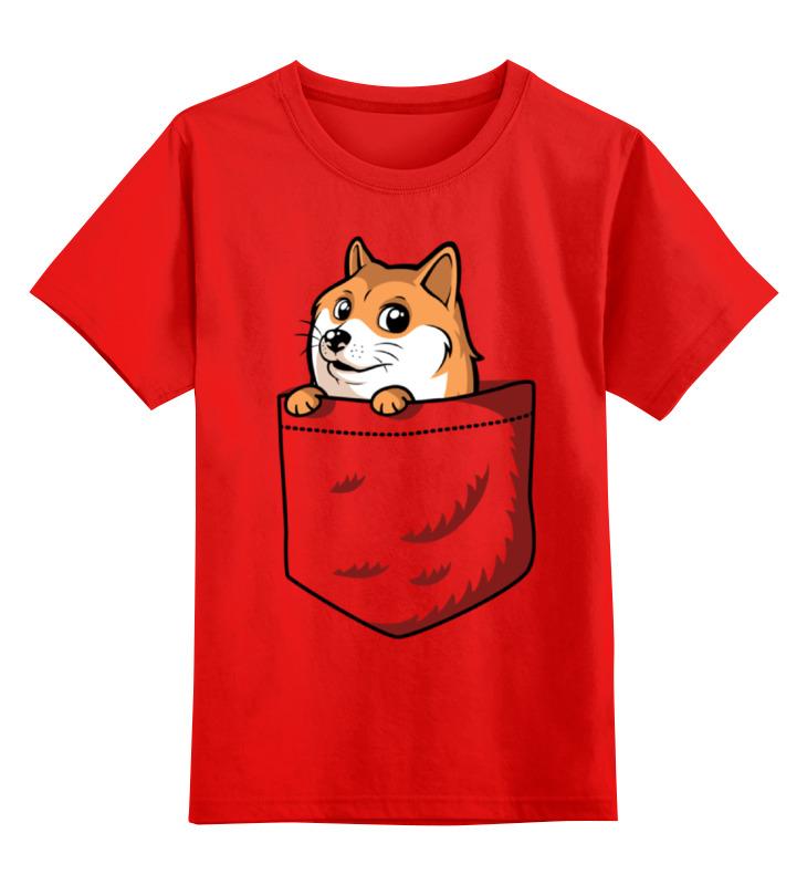 Детская футболка классическая унисекс Printio Wow doge (собакен) футболка print bar wow