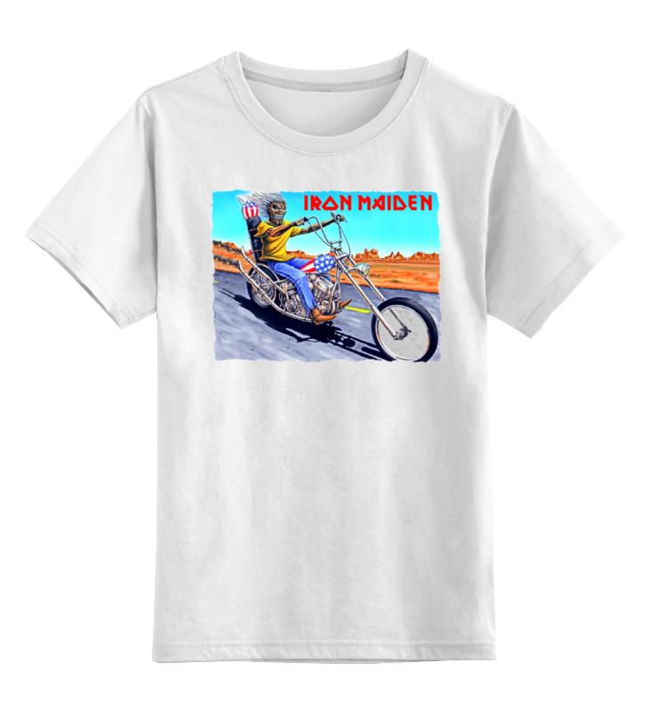 Детская футболка классическая унисекс Printio Iron maiden band iron maiden iron maiden running free live