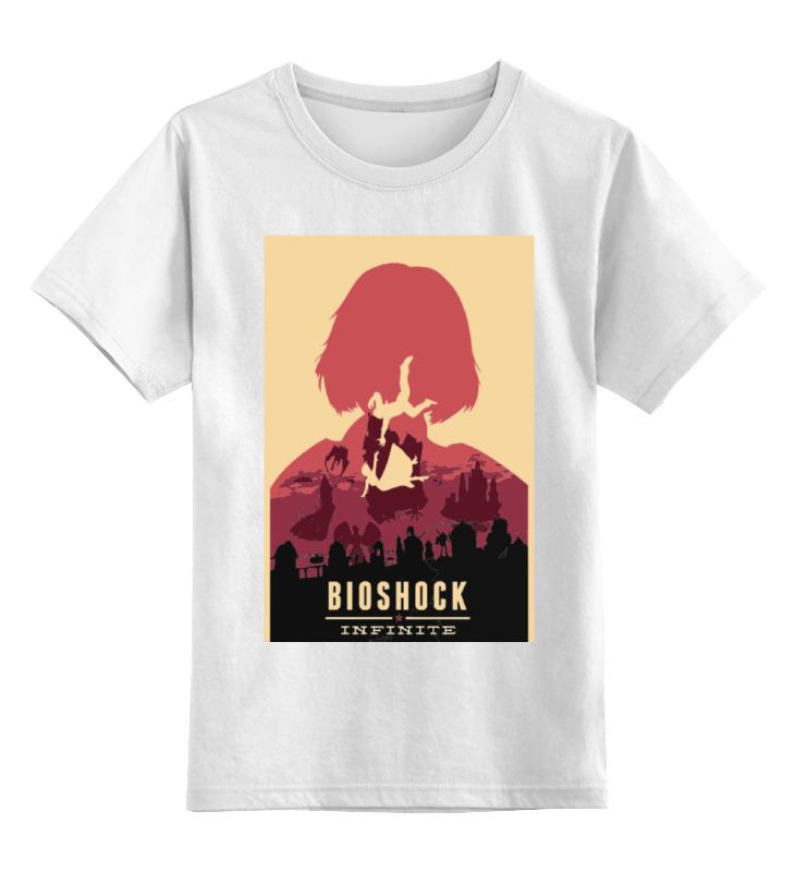Детская футболка классическая унисекс Printio Bioshock - elizabeth bioshock infinite цифровая версия