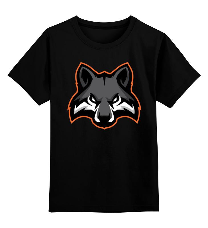 Детская футболка классическая унисекс Printio Wolf / волк детская футболка классическая унисекс printio lone wolf