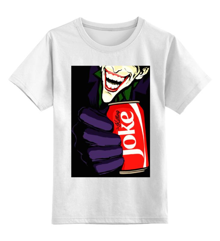 Детская футболка классическая унисекс Printio Joker детская футболка классическая унисекс printio joker