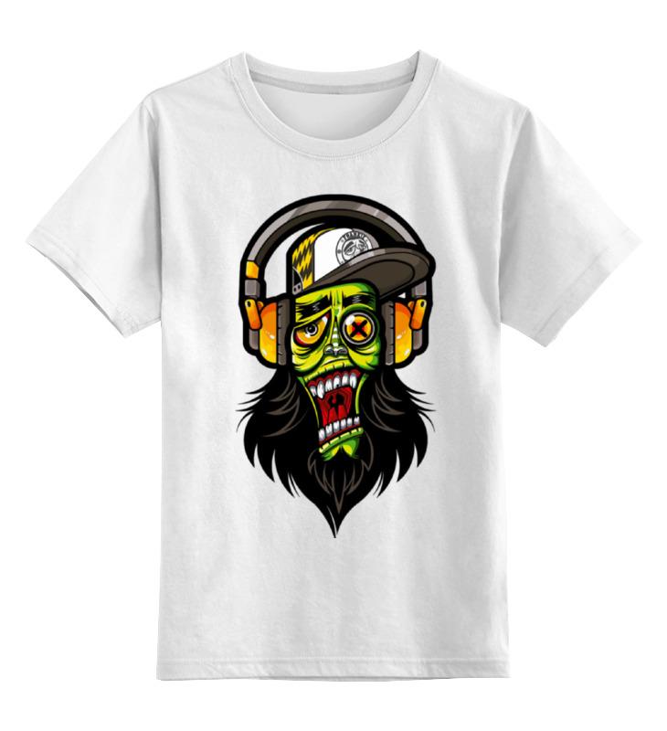 Детская футболка классическая унисекс Printio Зомби меломан детская футболка классическая унисекс printio зомби россия
