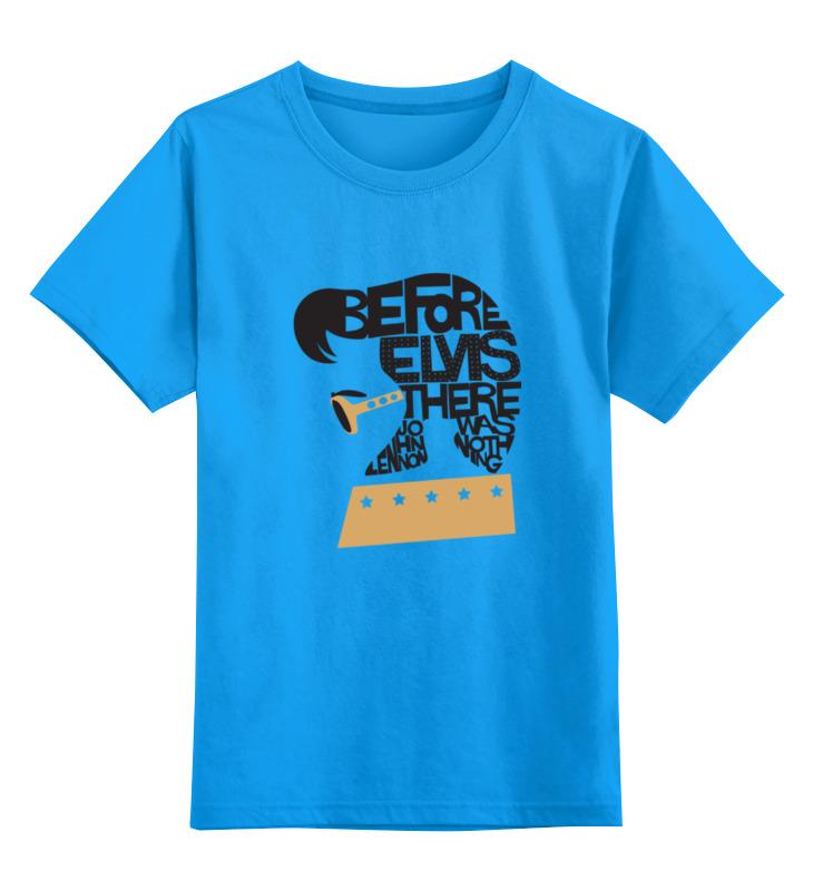 Детская футболка классическая унисекс Printio Элвис пресли (elvis presley) майка классическая printio elvis presley