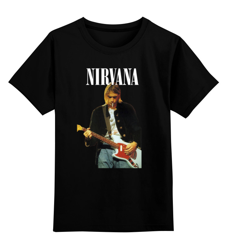Детская футболка классическая унисекс Printio Nirvana kurt cobain live & loud t-shirt 110db loud security alarm siren horn speaker buzzer black red dc 6 16v