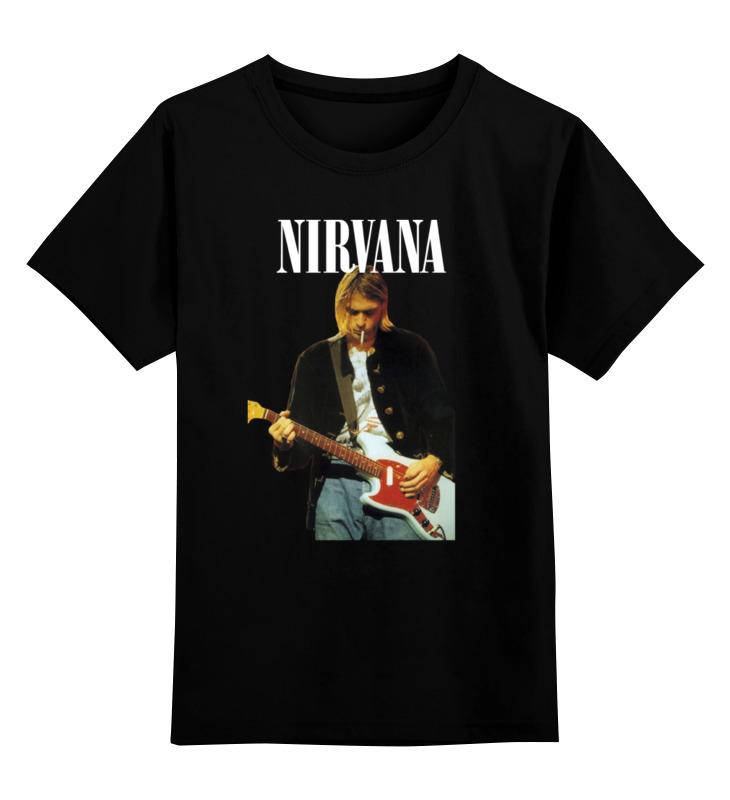 Детская футболка классическая унисекс Printio Nirvana kurt cobain live & loud t-shirt футболка классическая printio kurt cobain