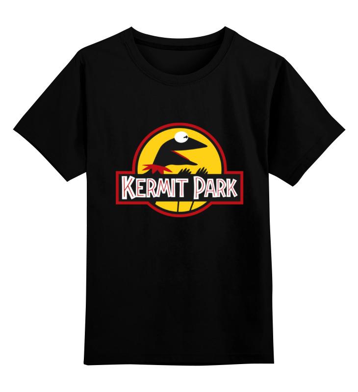 Детская футболка классическая унисекс Printio Kermit park лонгслив printio kermit park