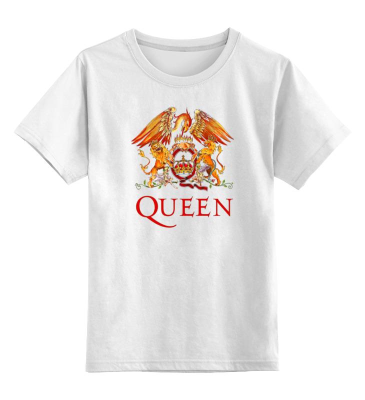 Детская футболка классическая унисекс Printio Queen group цена и фото