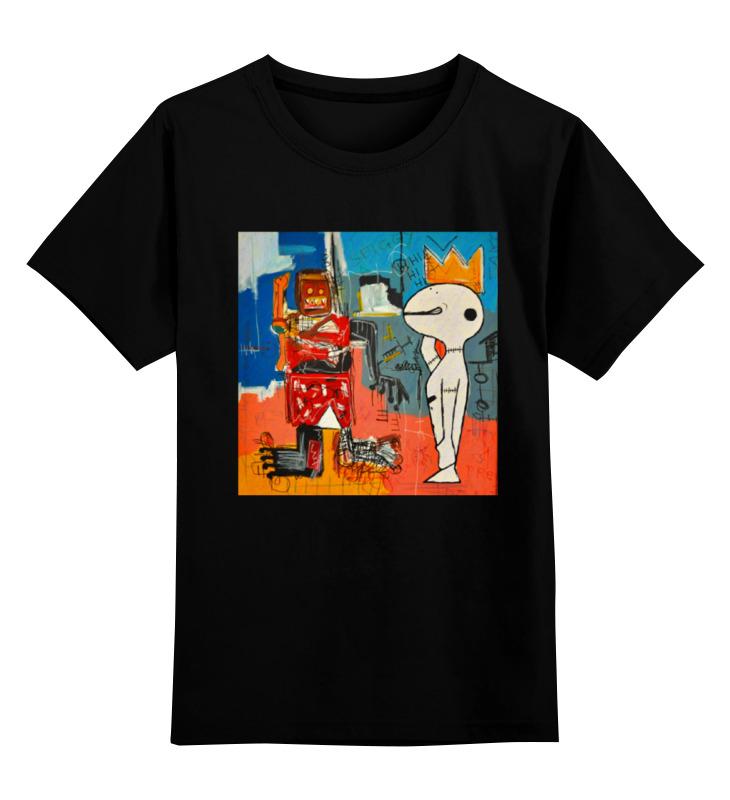 Детская футболка классическая унисекс Printio Basquiat/жан-мишель баския детская футболка классическая унисекс printio basquiat жан мишель баския