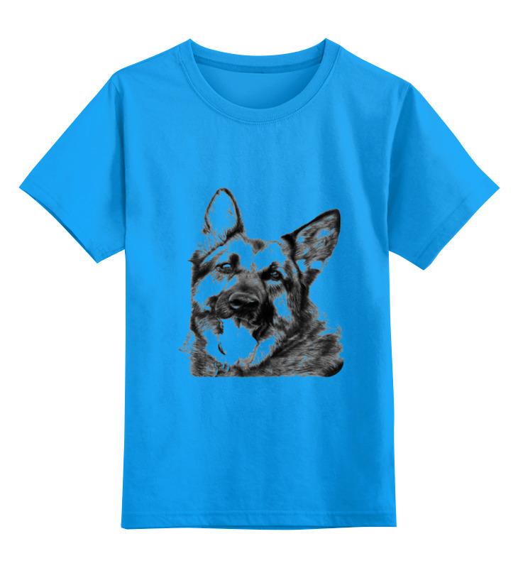 Детская футболка классическая унисекс Printio Овчарка цена и фото