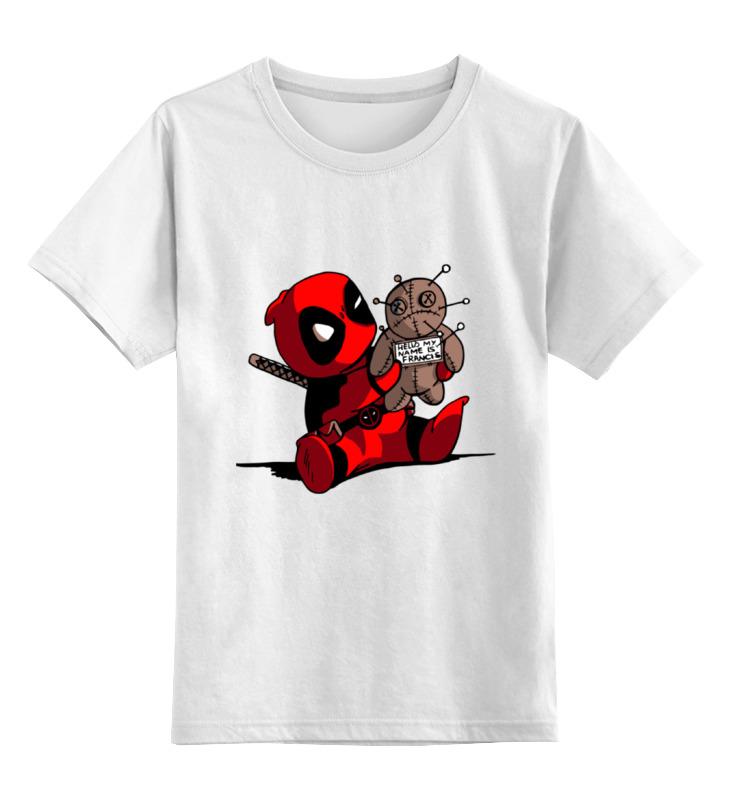 Printio Дэдпул ( deadpool ) детская футболка классическая унисекс printio joker x deadpool
