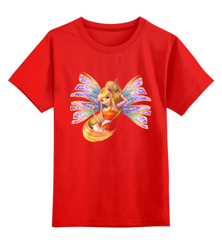 Детская футболка классическая унисекс Printio Фея. smoby детская горка king size цвет красный