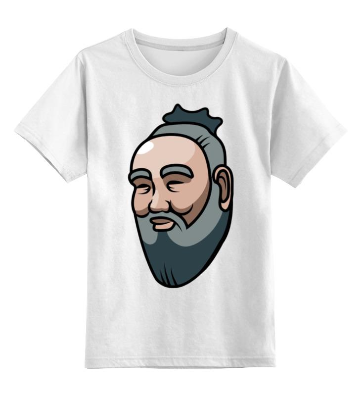 Детская футболка классическая унисекс Printio Конфуций майка классическая printio конфуций