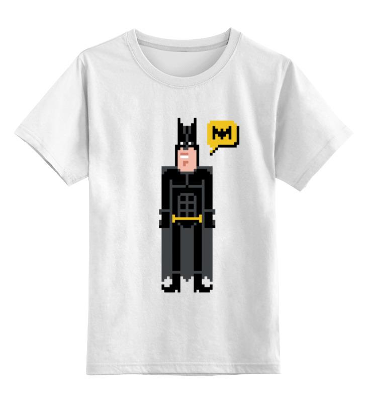 Printio Пиксельный бетмэн детская футболка классическая унисекс printio пиксельный узор
