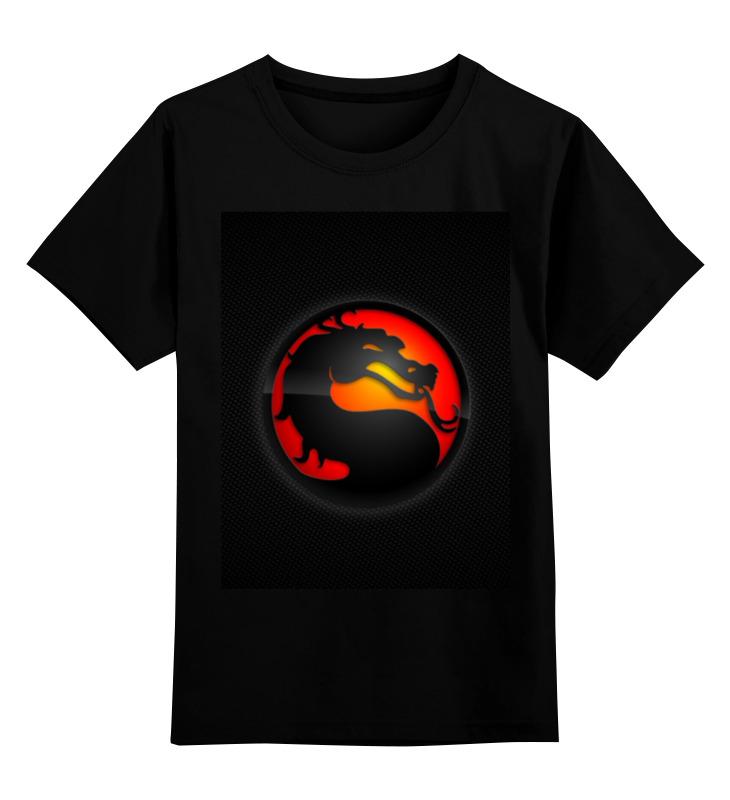 Детская футболка классическая унисекс Printio Mortal kombat детская футболка классическая унисекс printio бразилия