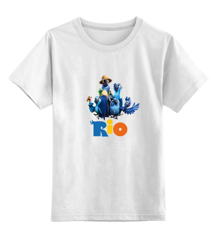 Детская футболка классическая унисекс Printio Rio 2016 цена и фото