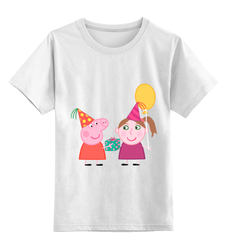 Детская футболка классическая унисекс Printio Свинка пеппа