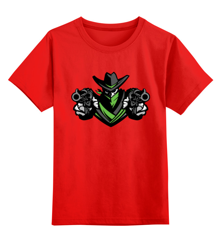 Детская футболка классическая унисекс Printio Ковбой smoby детская горка king size цвет красный