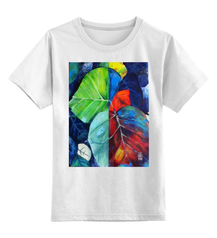Детская футболка классическая унисекс Printio Джунгли kogankids kogankids футболка джунгли белая