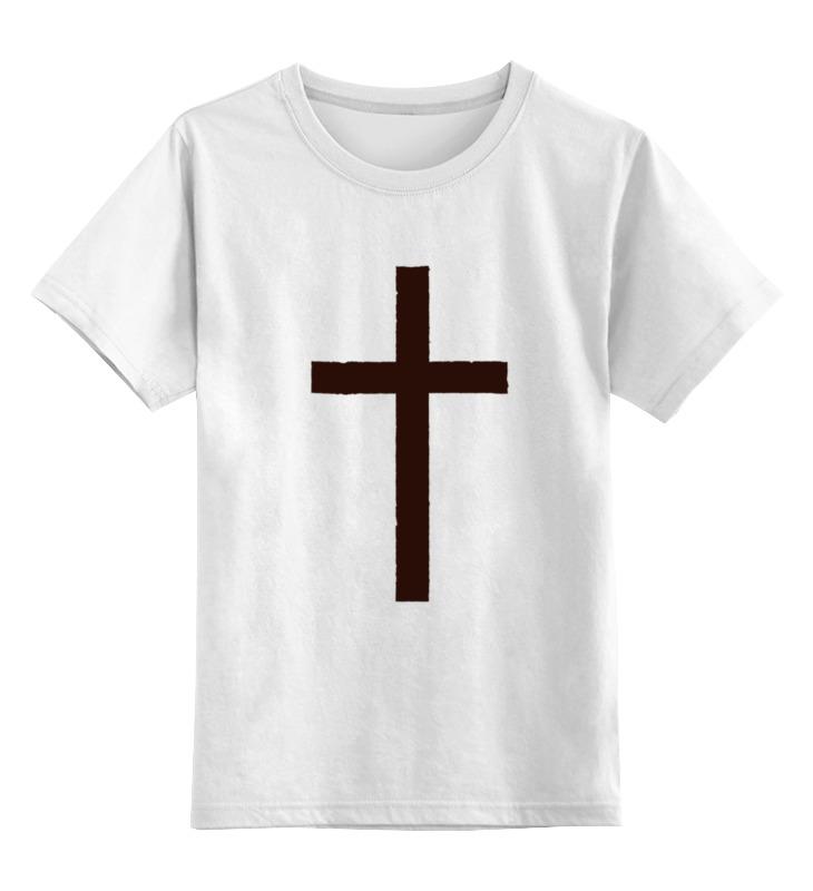 Детская футболка классическая унисекс Printio Крест лонгслив printio армянский крест