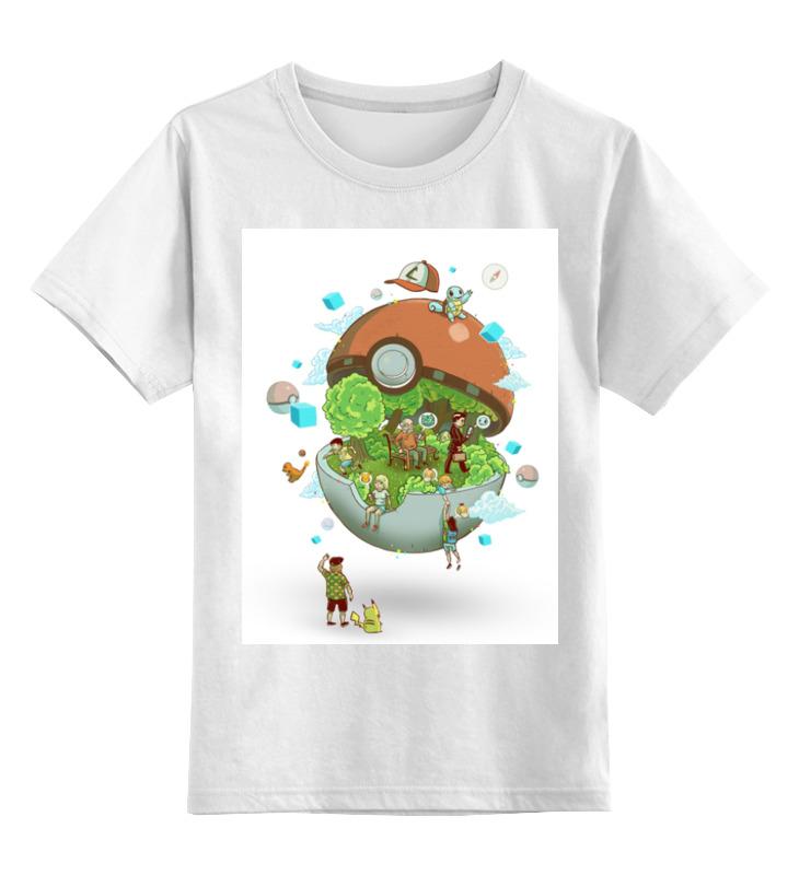 Детская футболка классическая унисекс Printio Покемон / pokemon
