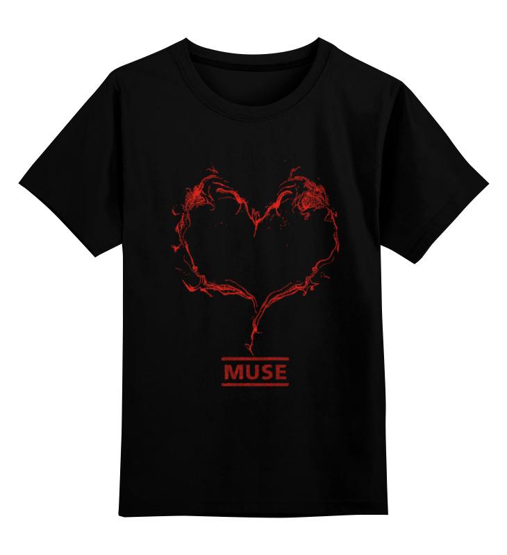 лучшая цена Детская футболка классическая унисекс Printio Muse