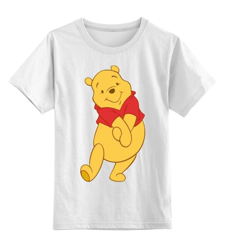 Детская футболка классическая унисекс Printio Винни-пух окт кресло в ваннуокт disney винни пух нескольз желтый