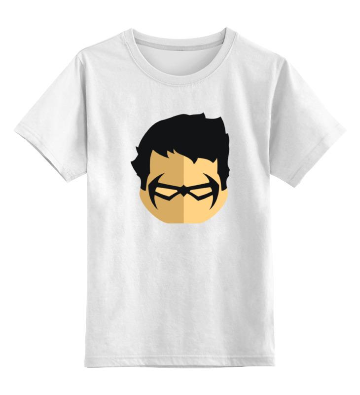 Детская футболка классическая унисекс Printio Дик грейсон original new arrival 2017 adidas neo label m sw tee men s t shirts short sleeve sportswear