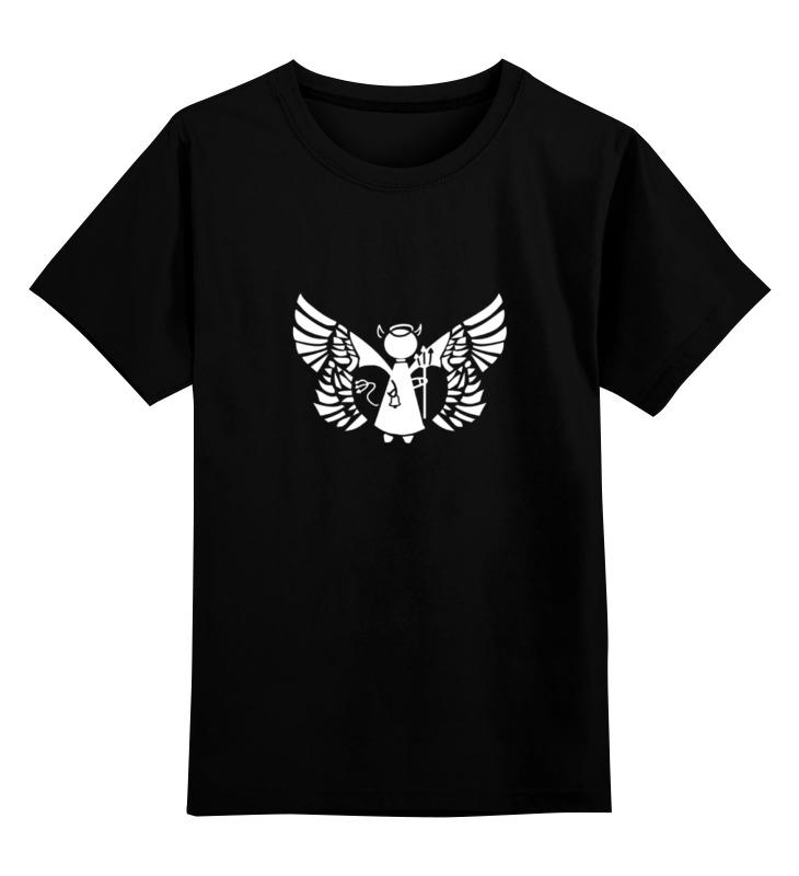Детская футболка классическая унисекс Printio Placebo (devil in the details) placebo barolo