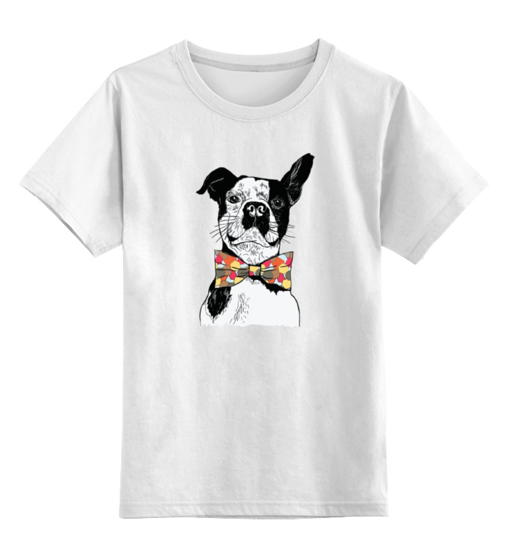 Детская футболка классическая унисекс Printio Собака джентльмен детская футболка классическая унисекс printio слоник