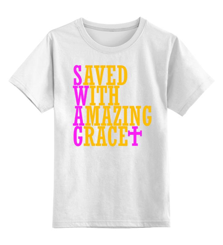 Детская футболка классическая унисекс Printio Swag art детская футболка классическая унисекс printio мачете