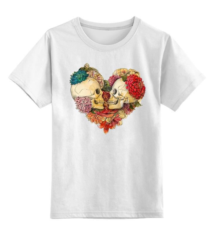 Детская футболка классическая унисекс Printio Skull art детская футболка классическая унисекс printio skull love forever