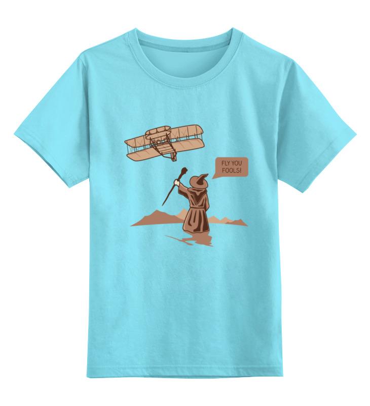 Детская футболка классическая унисекс Printio Гендальф (властелин колец) майка классическая printio властелин колец