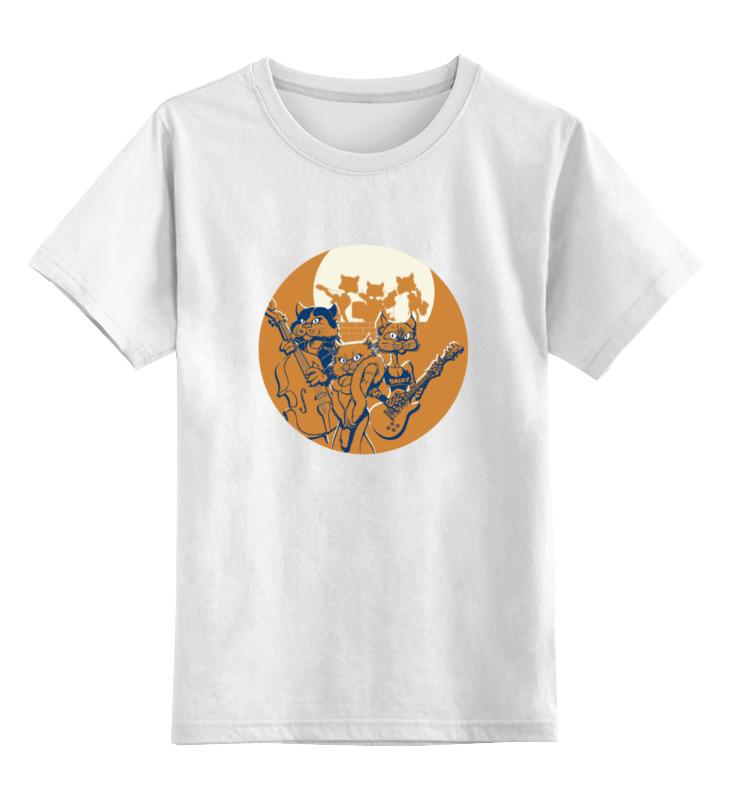 Printio Кошачий концерт детская футболка классическая унисекс printio музыка убивает