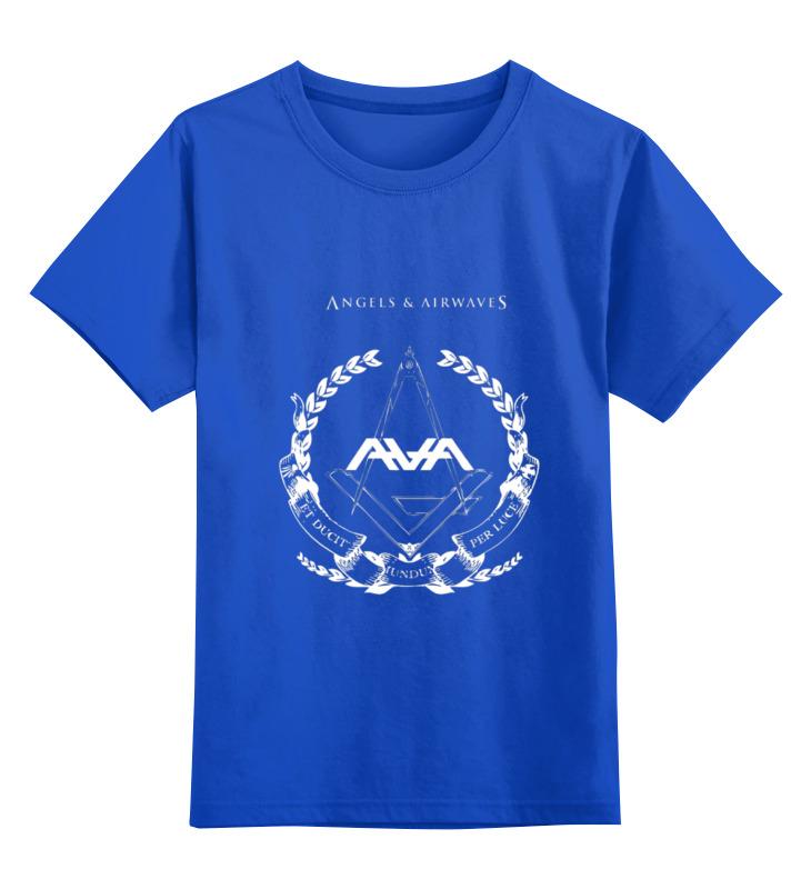 Детская футболка классическая унисекс Printio Angels and airwaves freemason футболка с полной запечаткой для девочек printio astronaut angels and airwaves