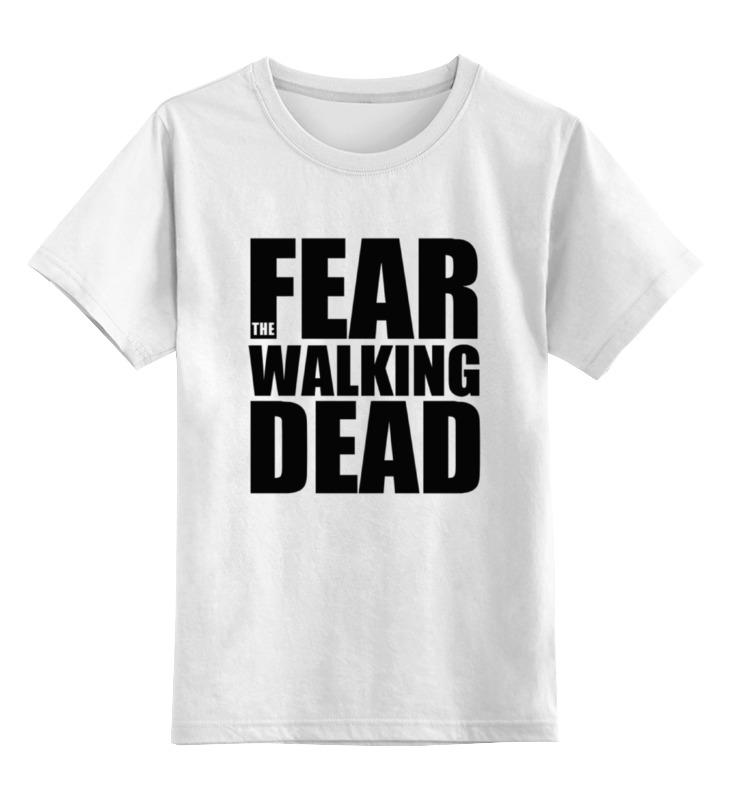 Детская футболка классическая унисекс Printio Fear the walking dead худи print bar the walking dead