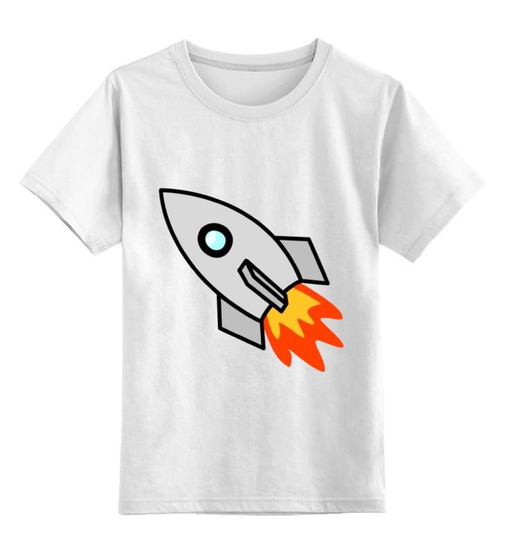 Детская футболка классическая унисекс Printio Ракета 2 детская футболка классическая унисекс printio классическая футболка dota 2