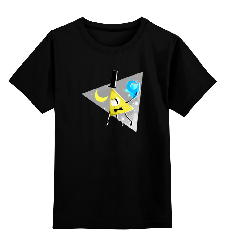 Детская футболка классическая унисекс Printio Билл шифр (гравити фолз) цены