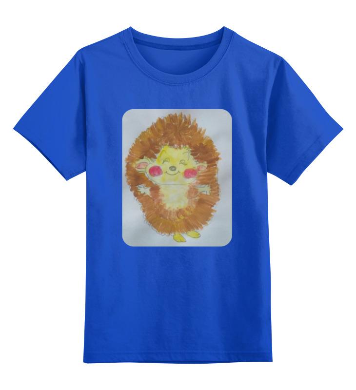 Детская футболка классическая унисекс Printio Ежик в тумане