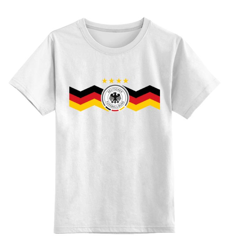Детская футболка классическая унисекс Printio Сборная германии стоимость