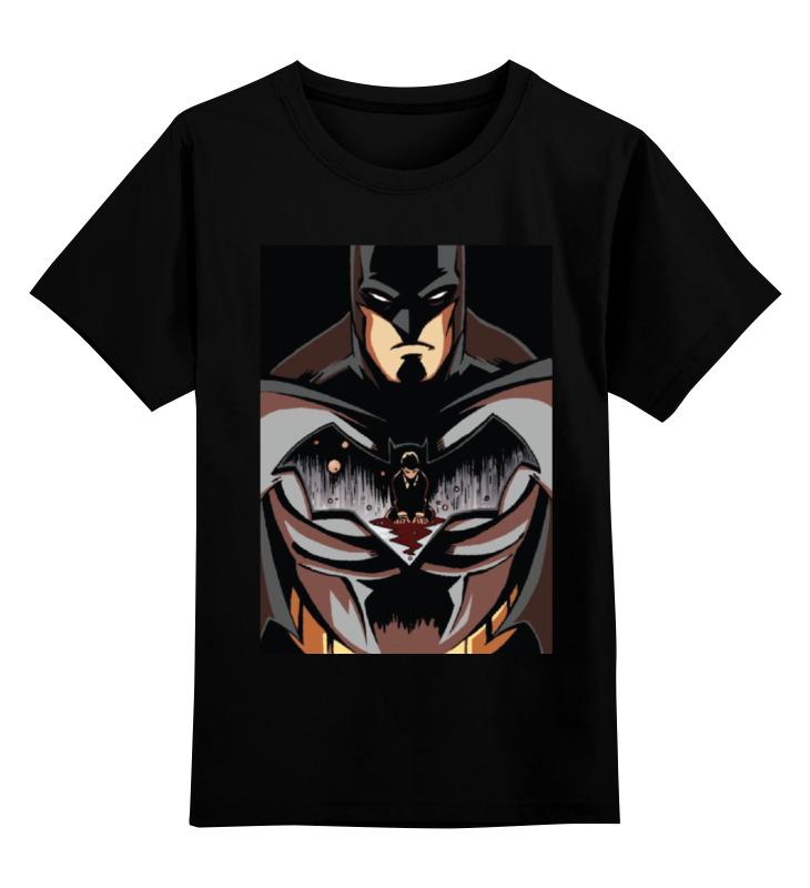 Детская футболка классическая унисекс Printio Batman / бэтмен детская футболка классическая унисекс printio batman бэтмен