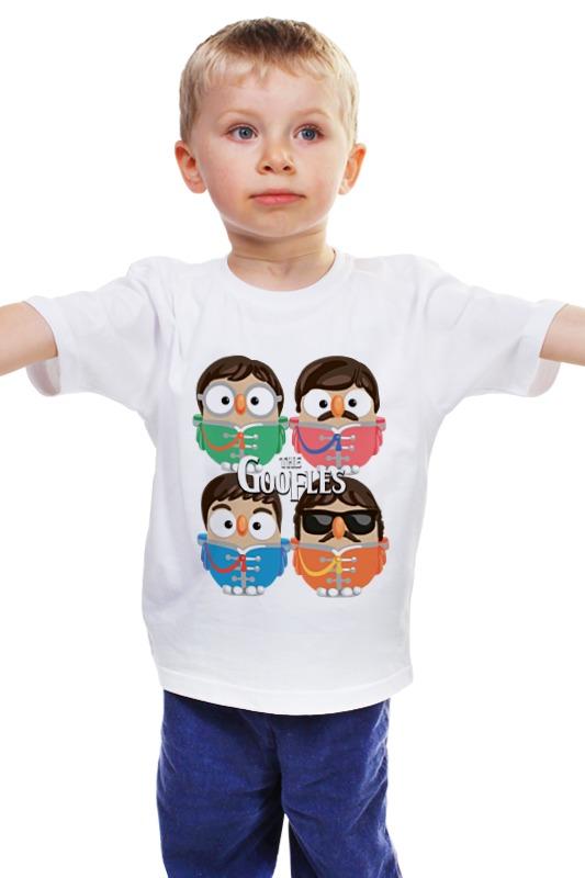 Детская футболка классическая унисекс Printio Сова битлз (the beatles) суперсова goofi знаменитости в челябинске