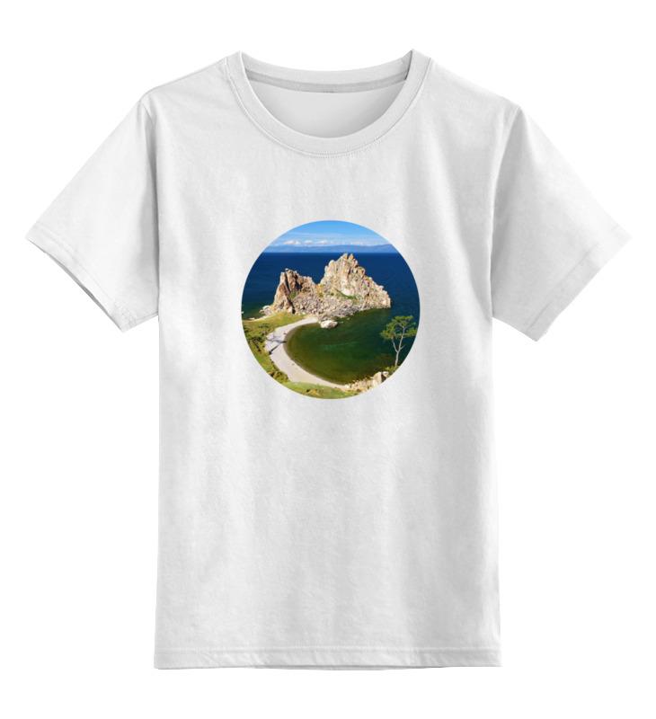 Детская футболка классическая унисекс Printio Байкал (ольхон)