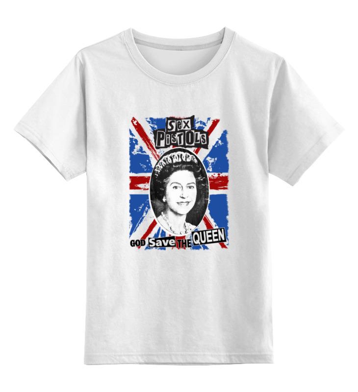 Детская футболка классическая унисекс Printio Sex pistols / god save the queen детская футболка классическая унисекс printio sex pistols